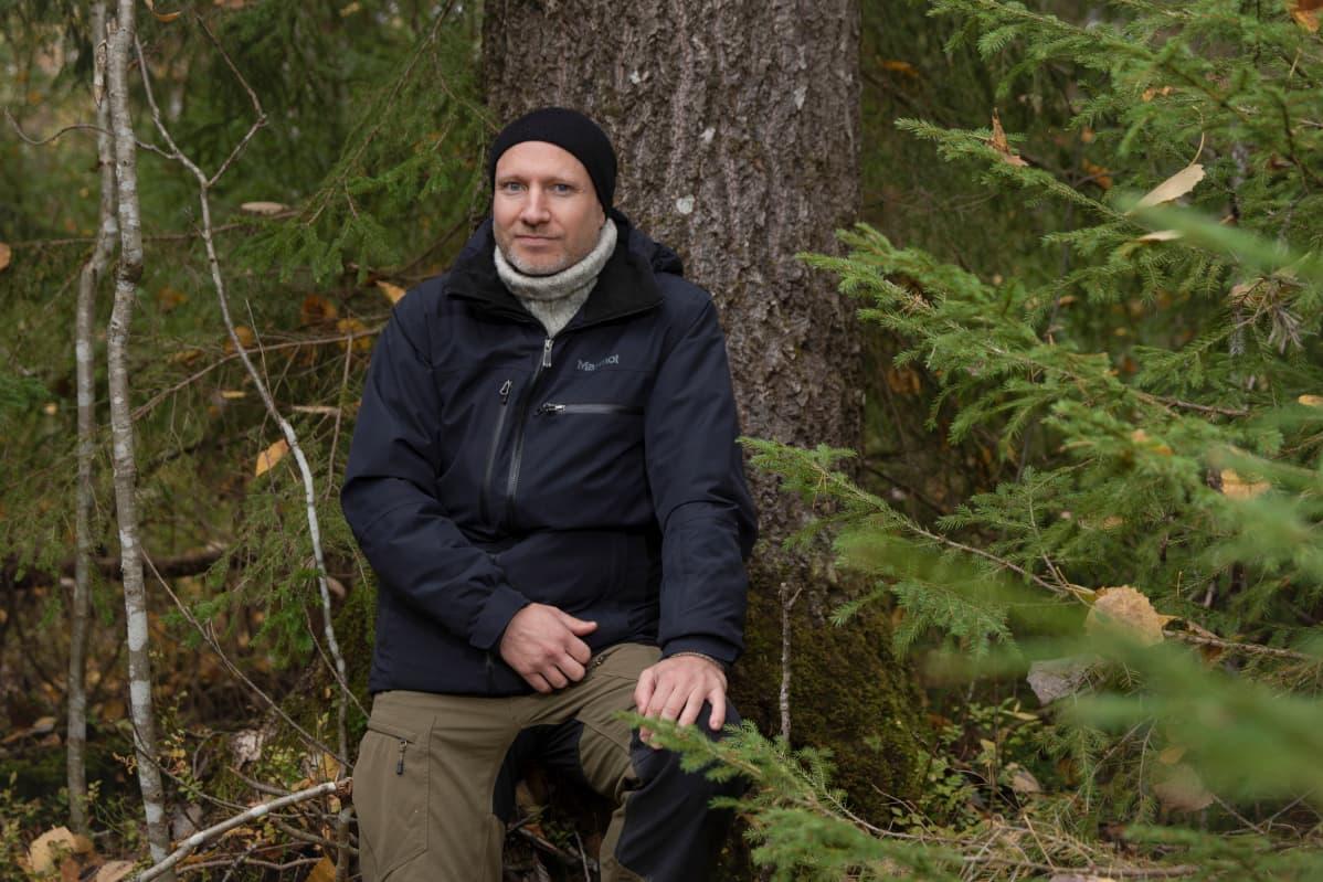 Kestävä metsä Panu Kunttu, WWF:n johtava metsäasiantuntija