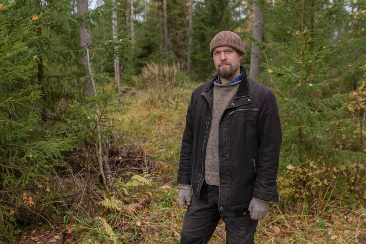 Jussi Saarinen, metsänhoitaja Yhteismetsä Tuohi/Metsätietopalvelu Silmu Oy