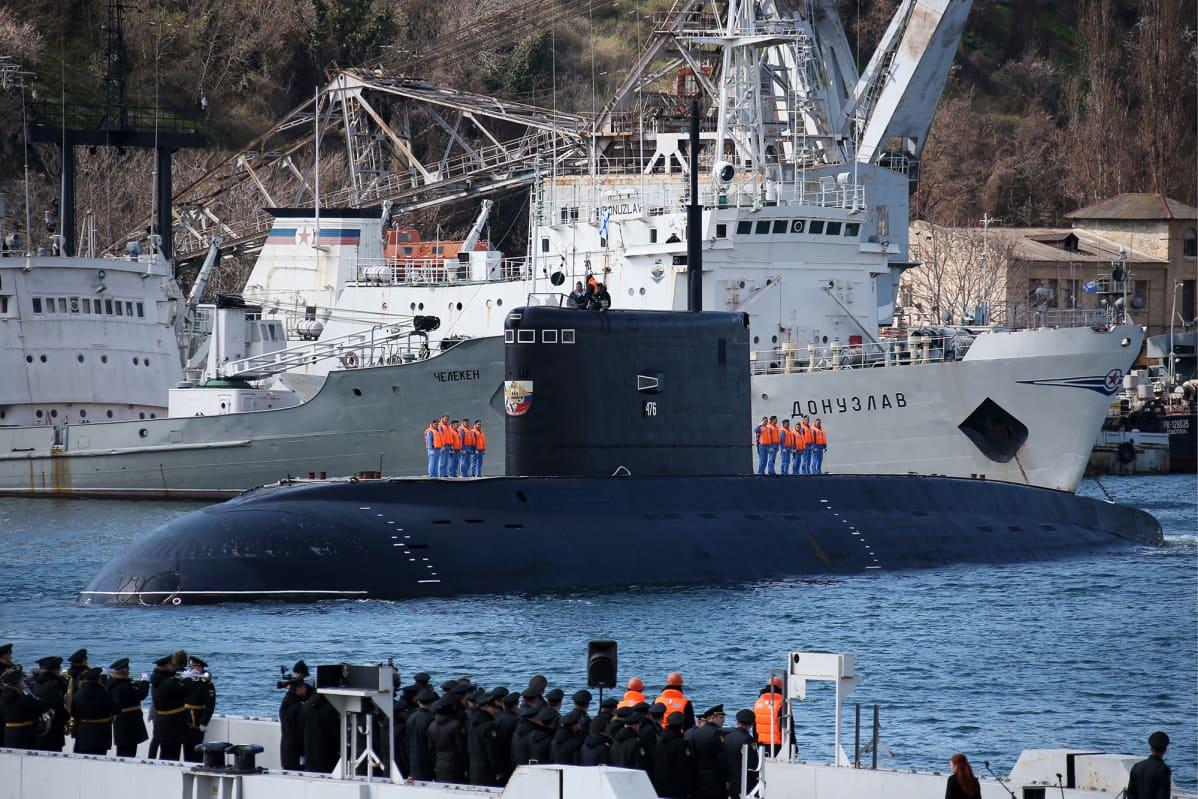 Venäläinen Kilo II -luokan sukellusvene.