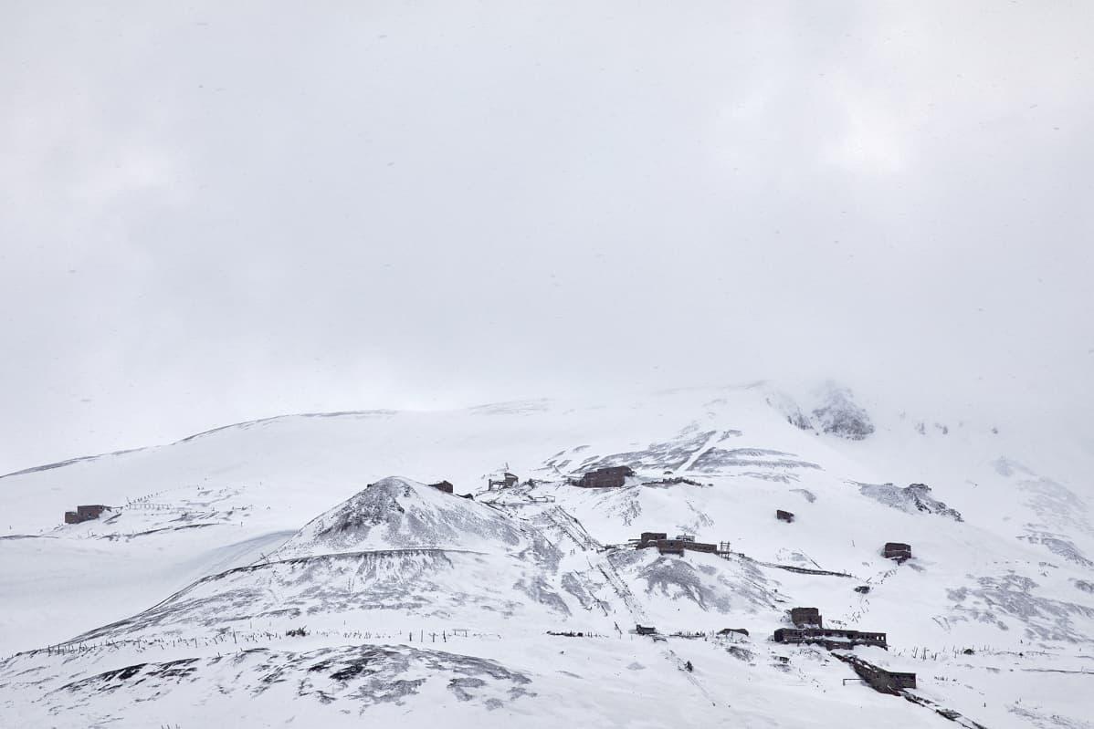 Luminen maisema.