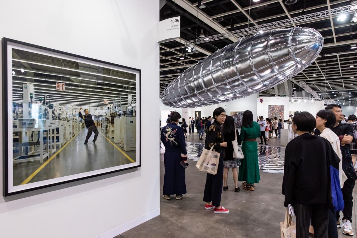 Taidetapahtuma Art Basel Hong Kong vuonna 2019