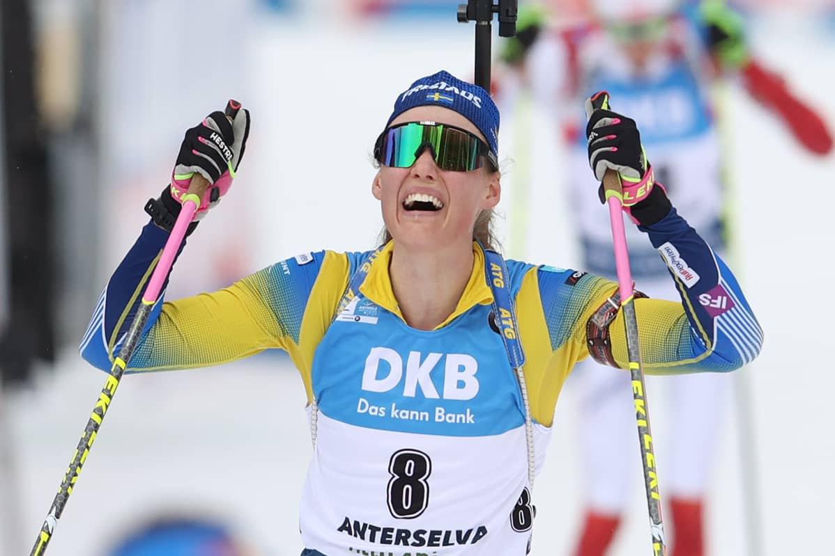 Hanna Öberg mm anterselva