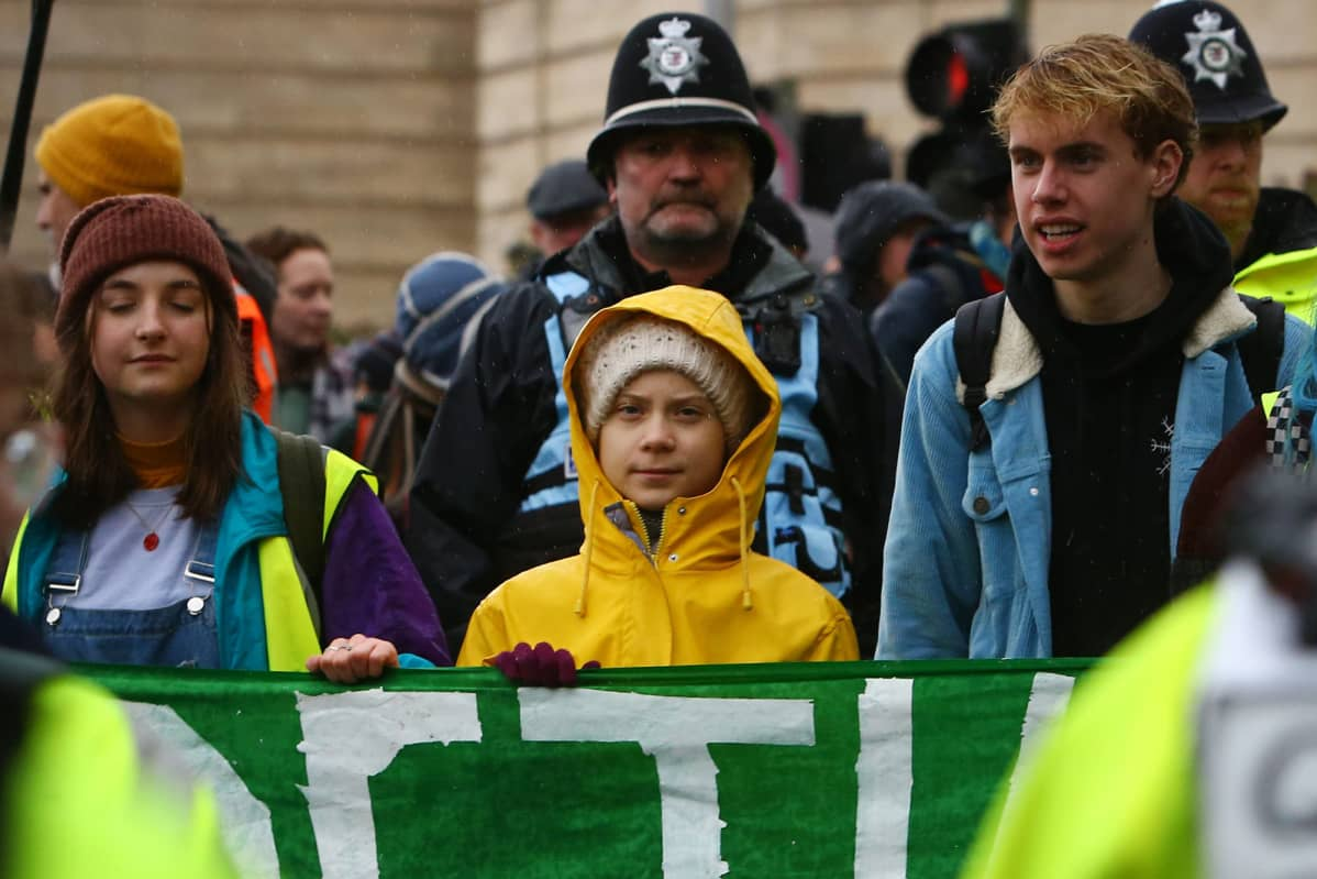 Ilmastoaktivisti Greta Thunberg.