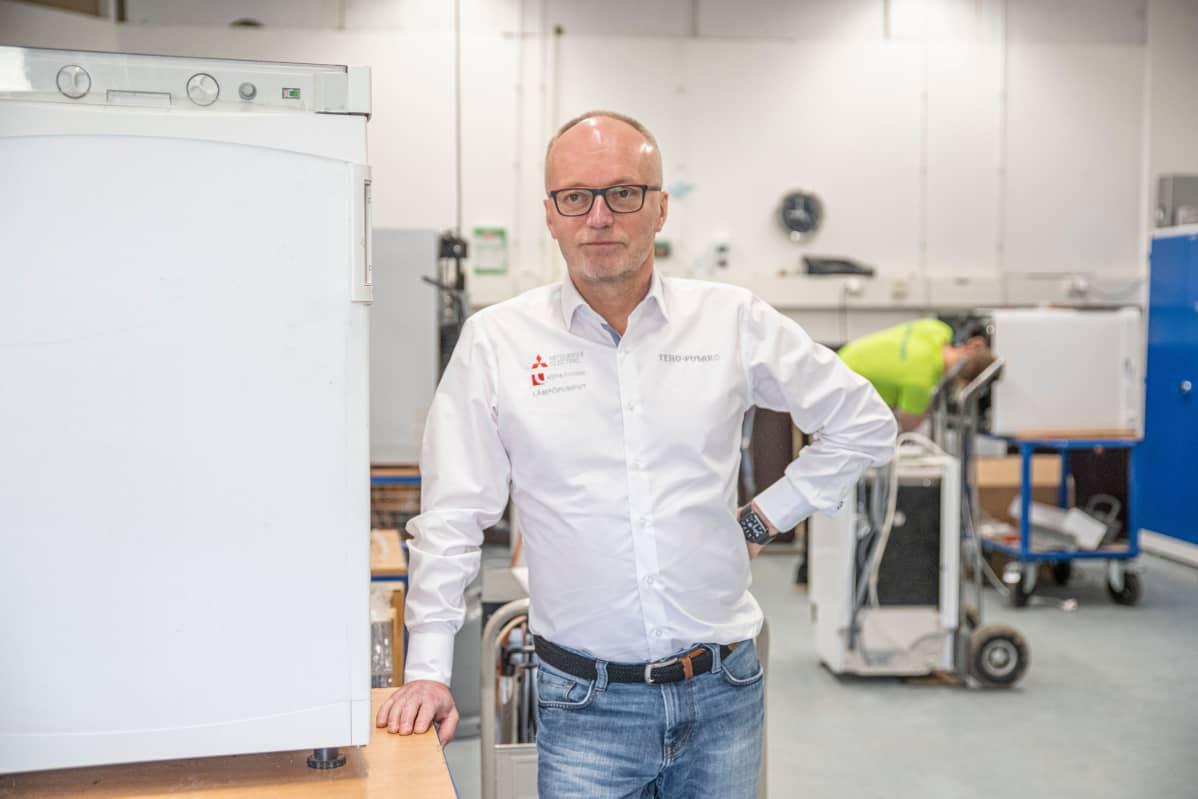 Toimitusjohtaja Esko Airaksinen