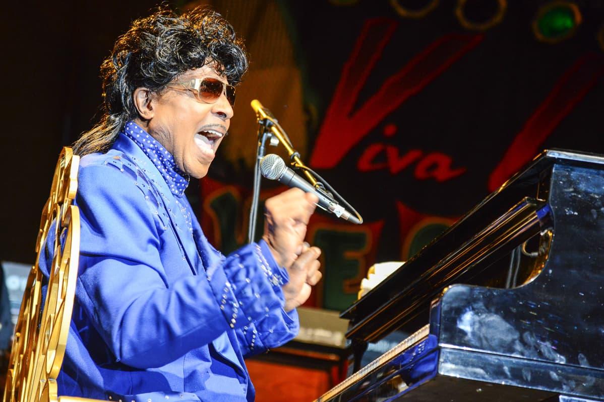 Kuvassa on muusikko Little Richard.