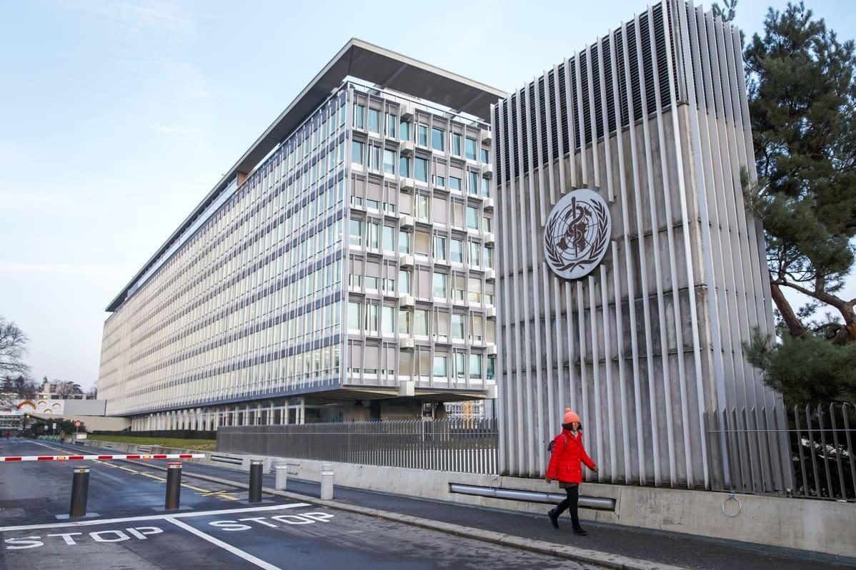 WHO:n päämaja Genevessä.