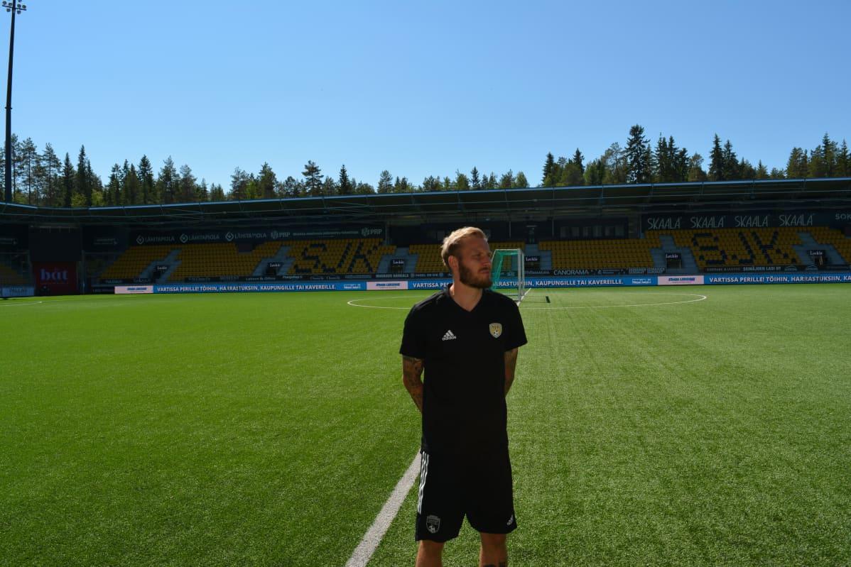Niko Markkula kertoo masennuksestaan