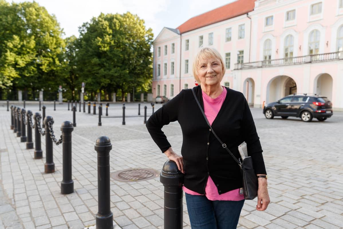 Kirjailija, toimittaja ja kulttuurivaikuttaja Kulle Raig.