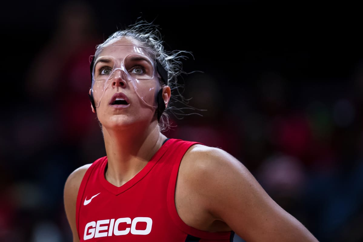 Elena Delle Donne Washington Mystics 2019