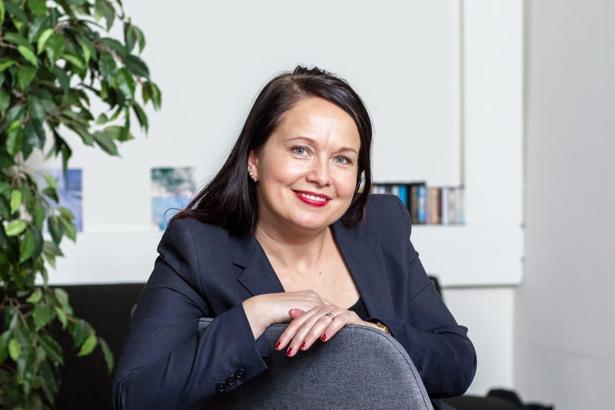 Helsingin yliopiston kehittämispäällikkö Susanna Niinistö-Sivuranta.