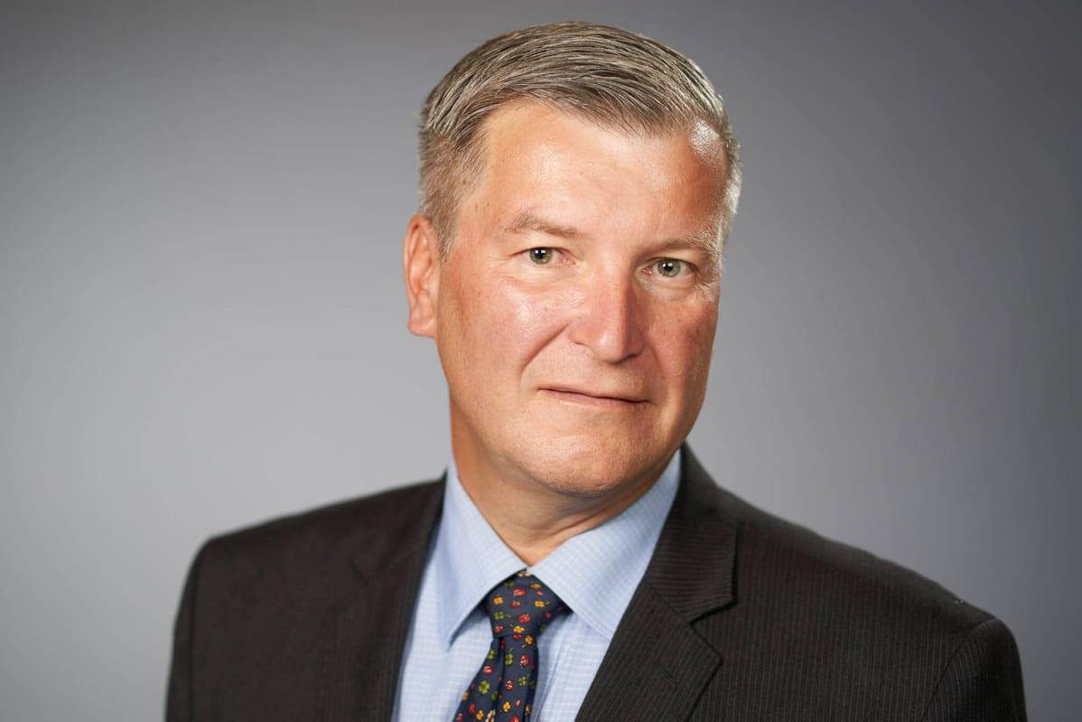 Kuvassa on Stefan Lindström.
