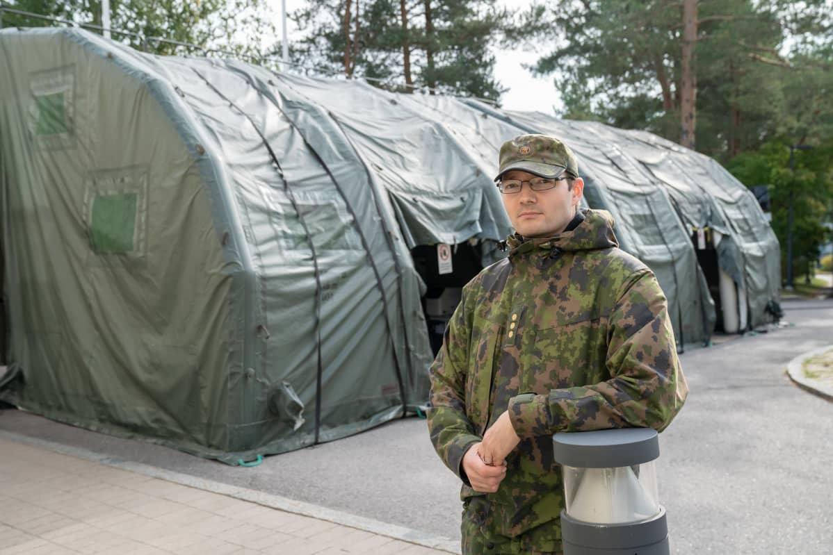 Puolustusvoimien suojelun osaamiskeskuksen johtaja Karri Kinisjärvi