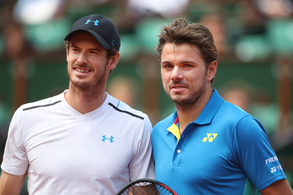 Andy Murray ja Stan Wawrinka