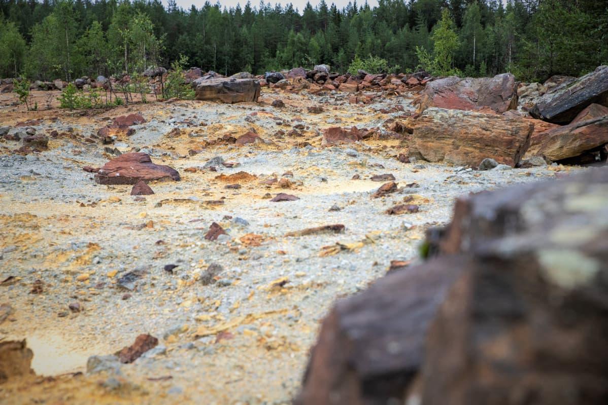 Kangasjärven kaivos Keski-Suomessa