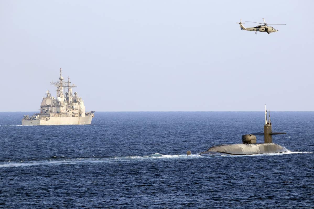 Yhdysvaltain merivoimat.