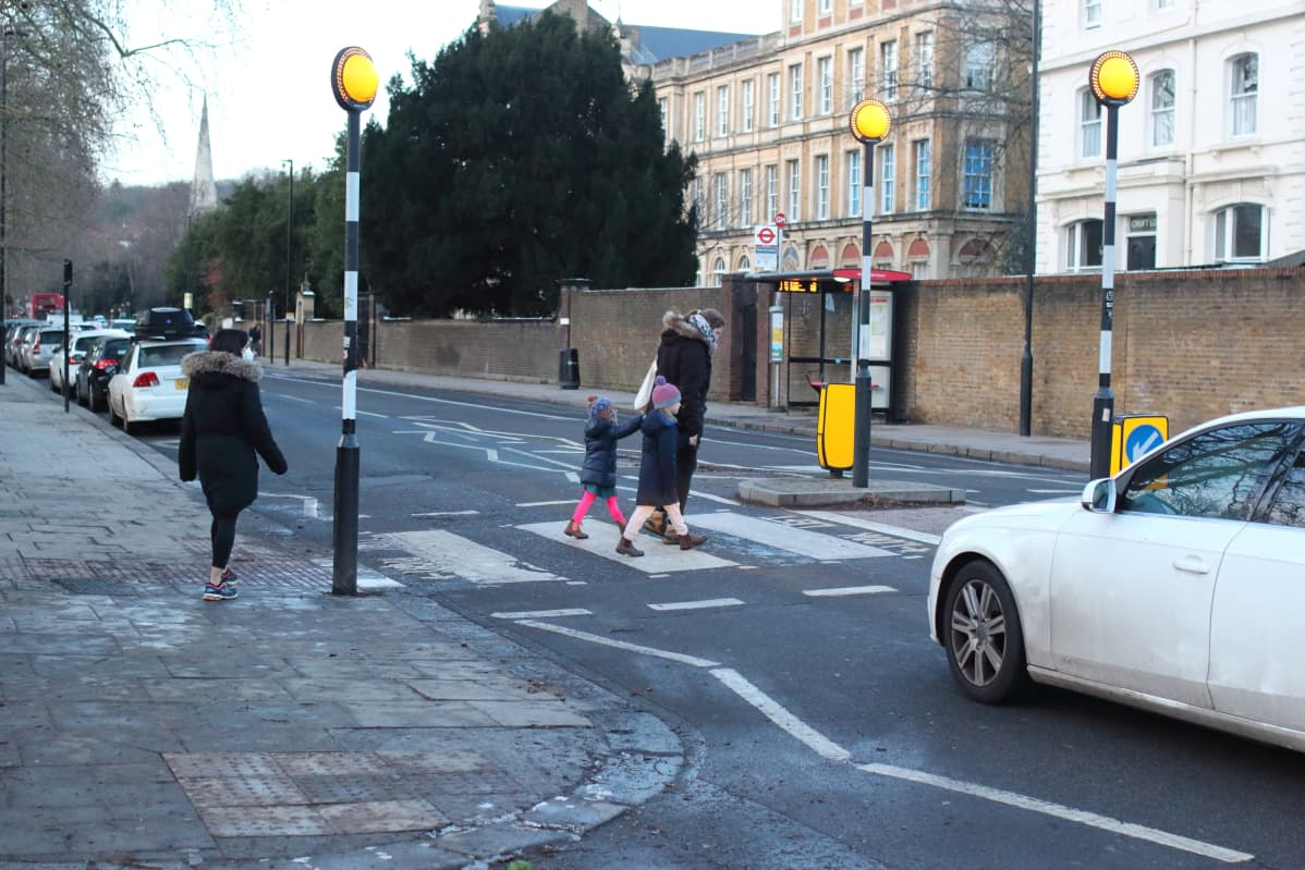 lapsia Lontoossa