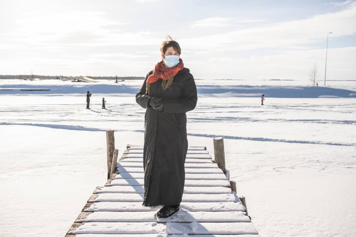 Oulunkaaren vanhuspalvelujohtaja Hannle Pöykiö.