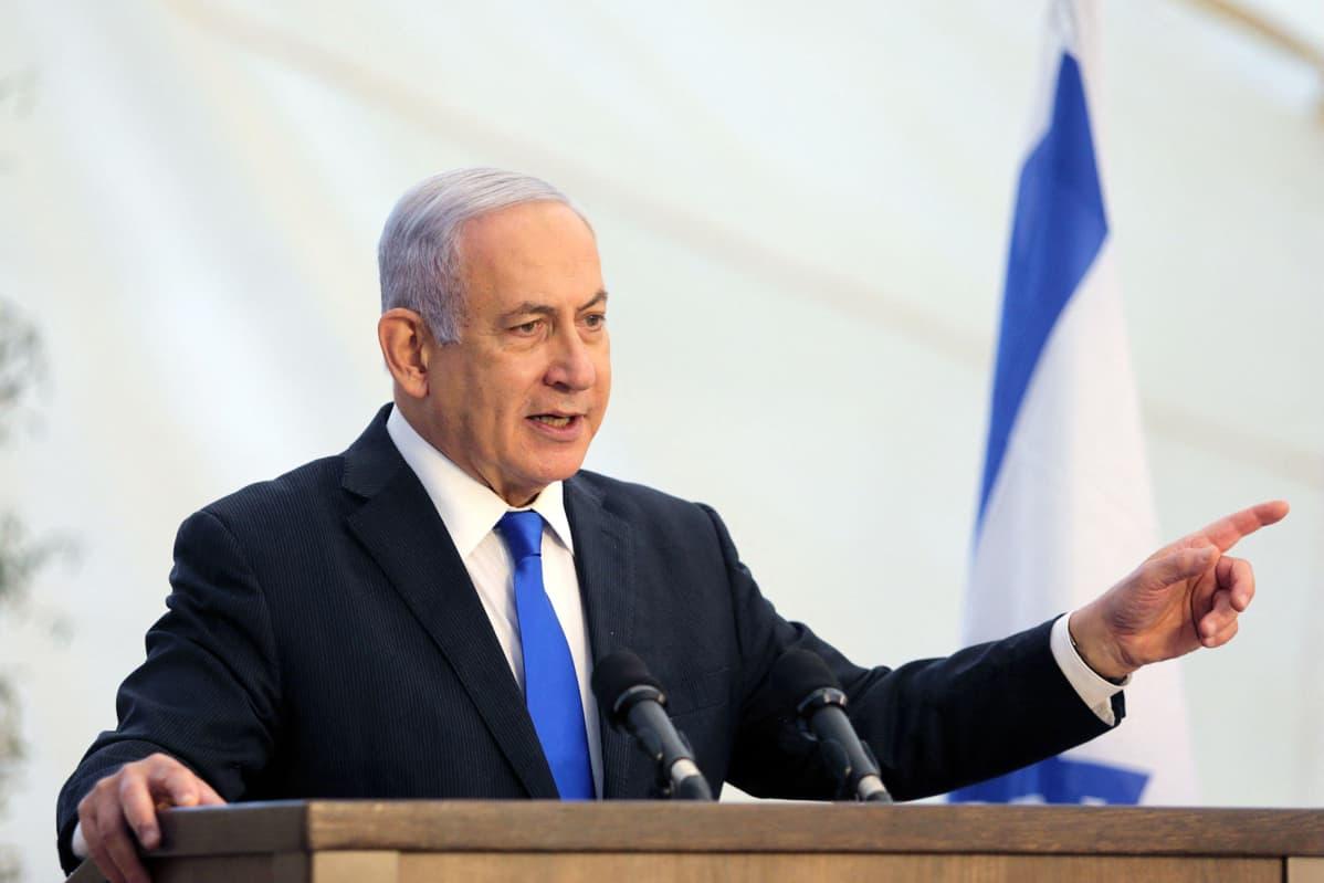 Israelin pääministeri Benjamin Netanjahu.