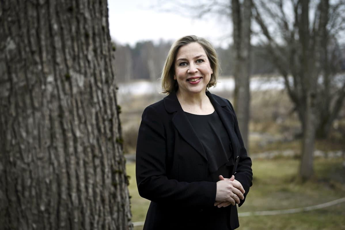 Valtiontalouden tarkastusviraston VTV:n pääjohtaja Tytti Yli-Viikari Helsingissä 14. joulukuuta