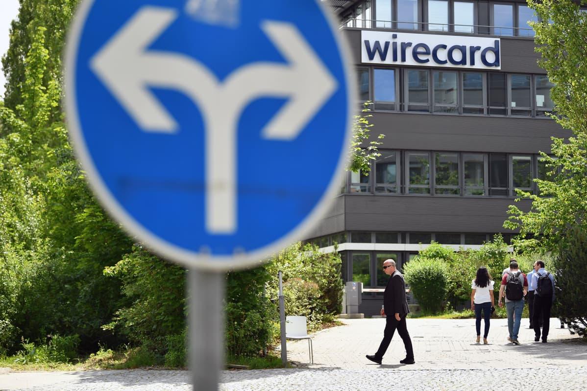 Wirecardin pääkonttori Aschheimissa.