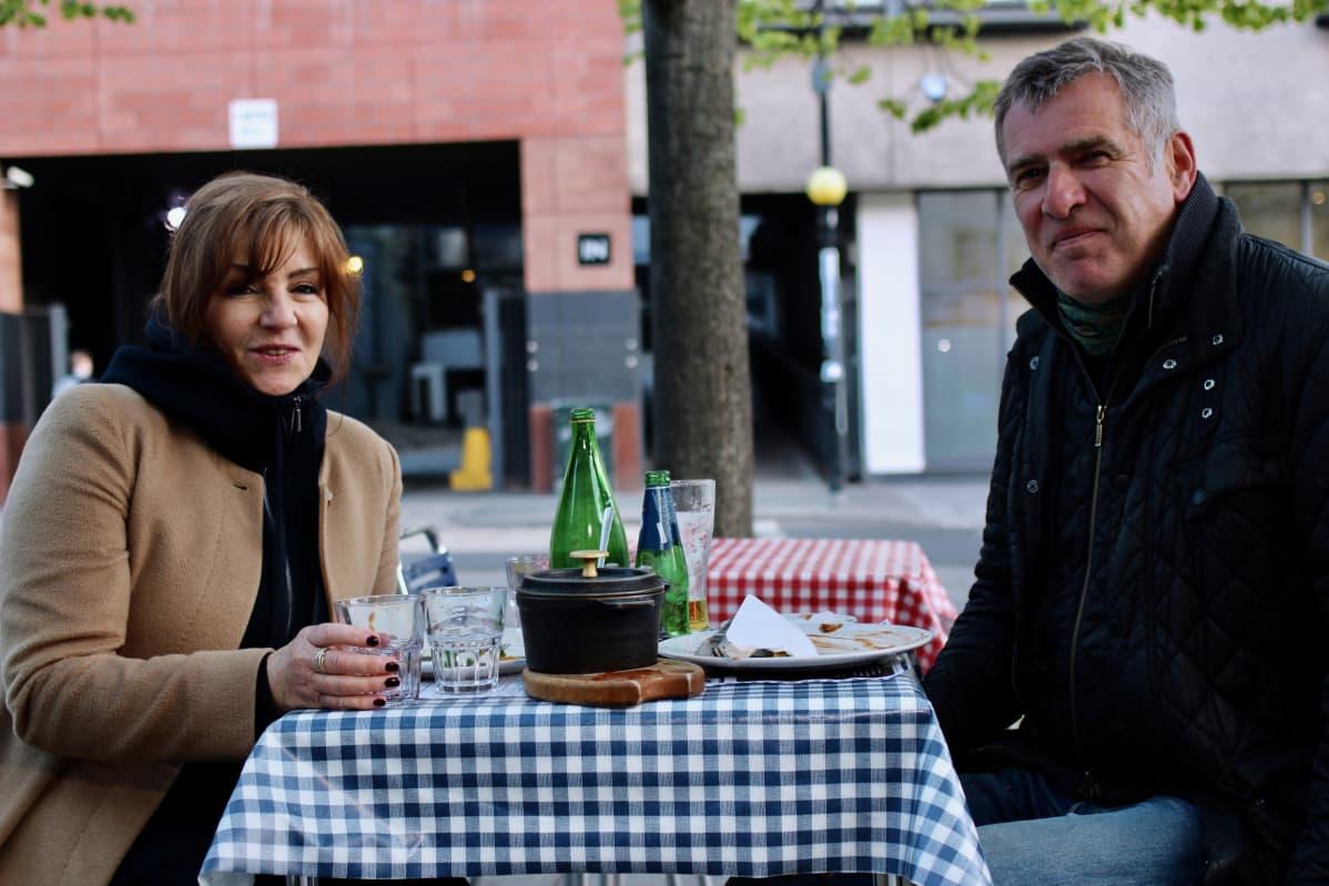 Jane ja David Farthing