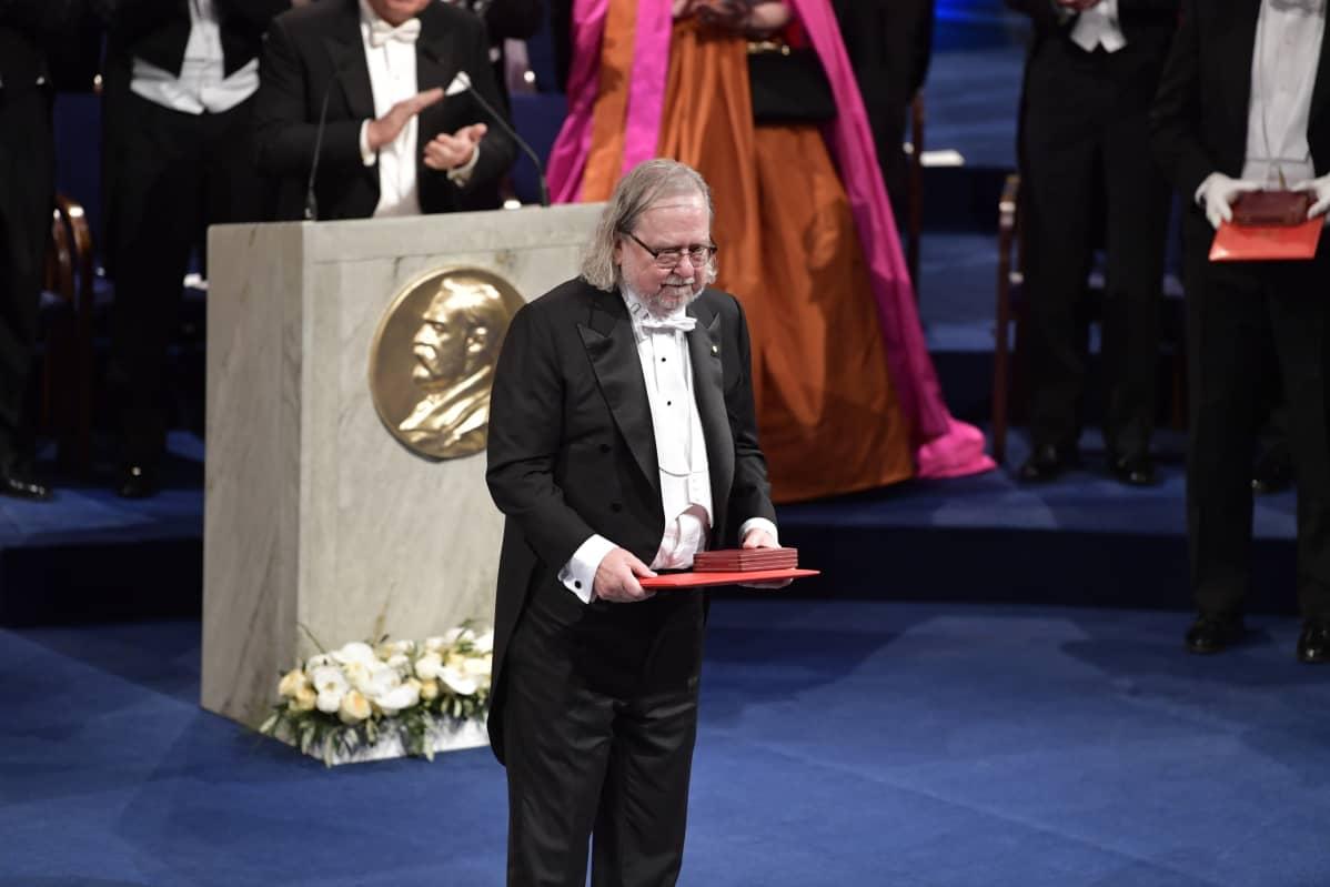 James P. Allison Nobel-palkittavana