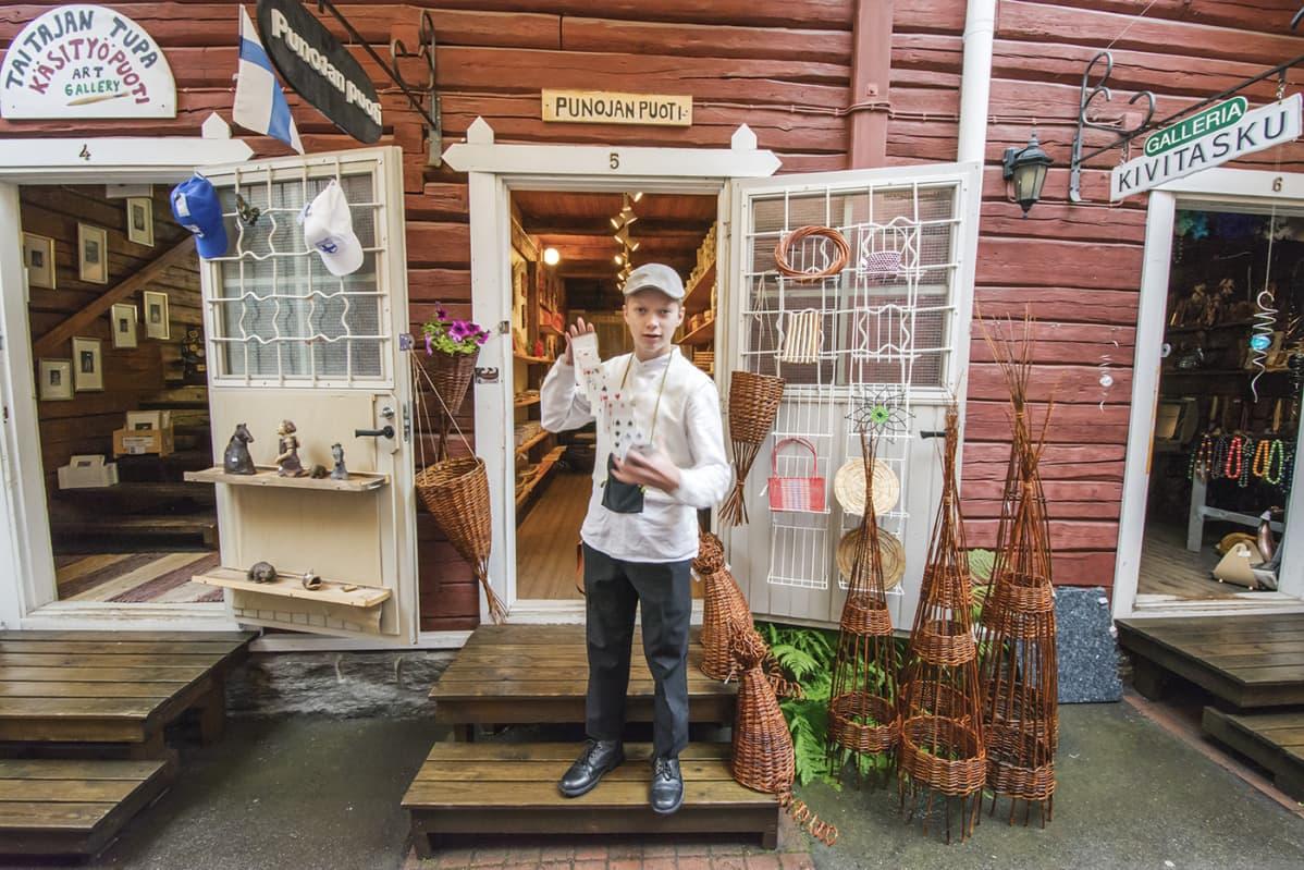 Kuopion Pikku Pietarin torikuja.