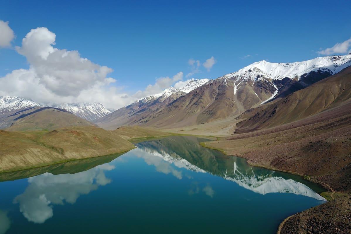 Maisema Himalajalla.