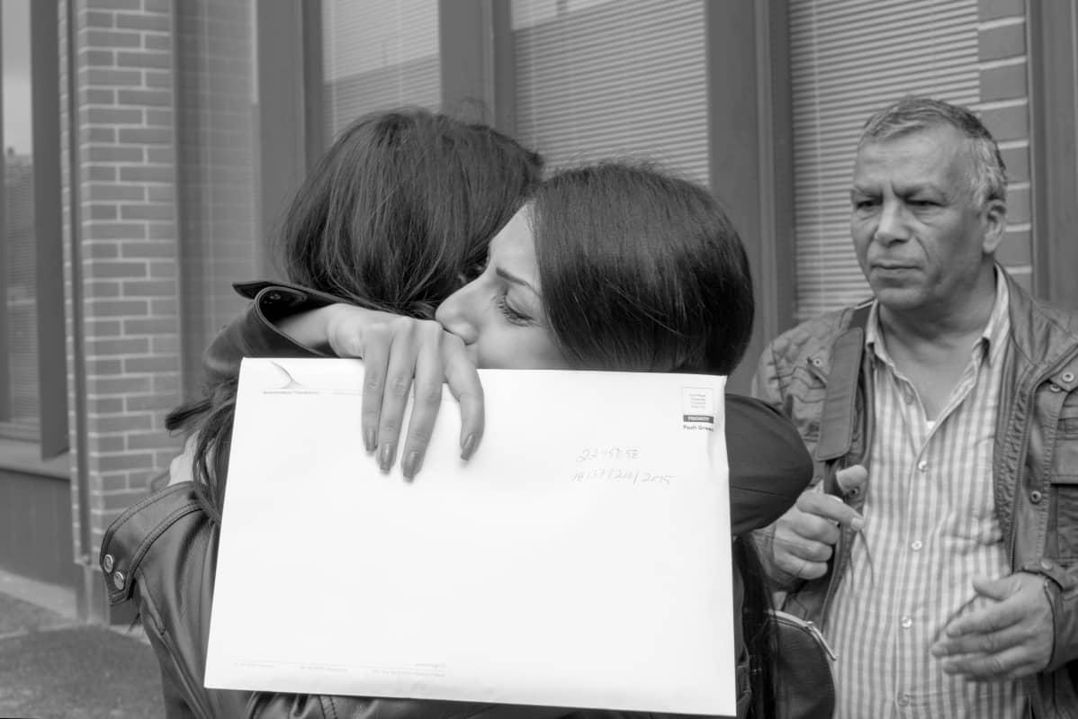 Sahar ja Haneen saivat myönteiset turvapaikkapäätökset elokuussa 2016.