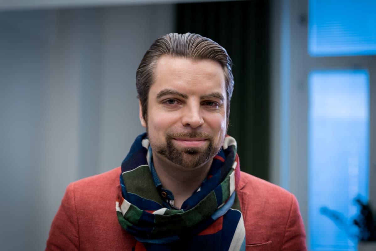 Psykoterapiakeskus Vastaamo Oy.n toimitusjohtaja Ville Tapio