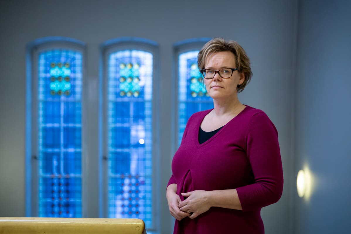 Pietarsaaren sairaalan johtava lääkäri Pia-Maria Sjöström, Pietarsaari, 3.12.2018.
