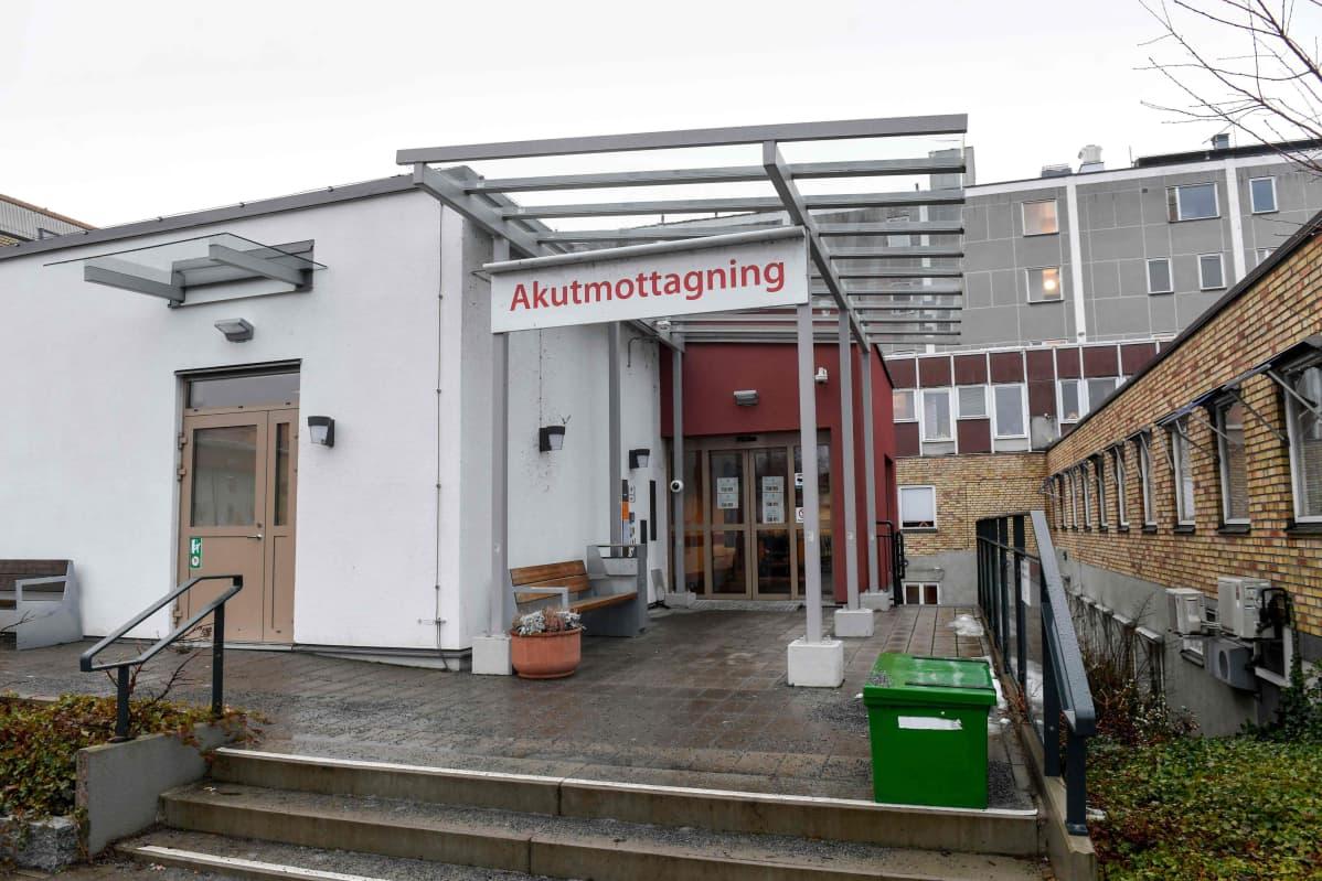 Enköpings akutmottagning.
