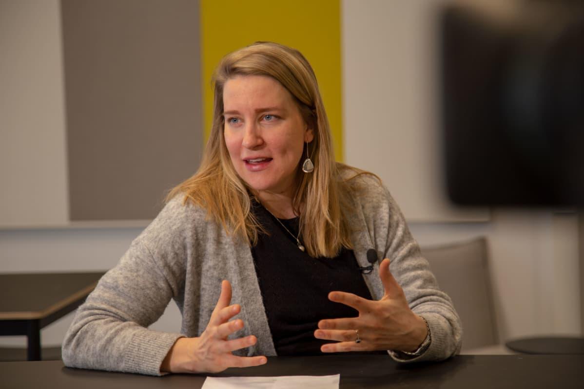 Tutkijatohtori Johanna Vuorelma