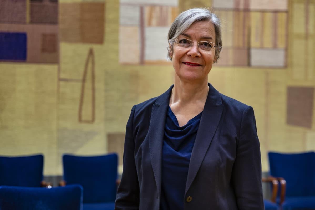 Päivi Heikkinen, osastopäällikkö, maksujärjestelmät, Suomen Pankki