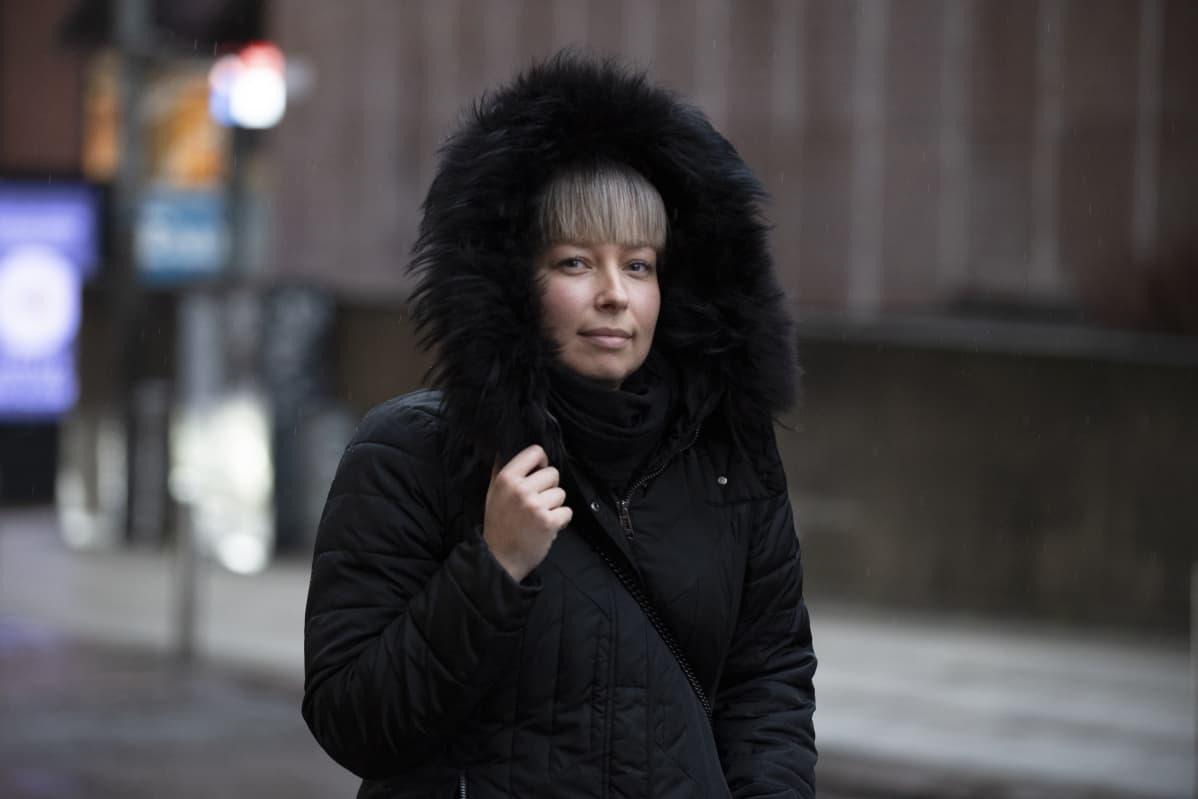Haastattelussa Jenni Jamsen Helsingissä 28.01.2020.
