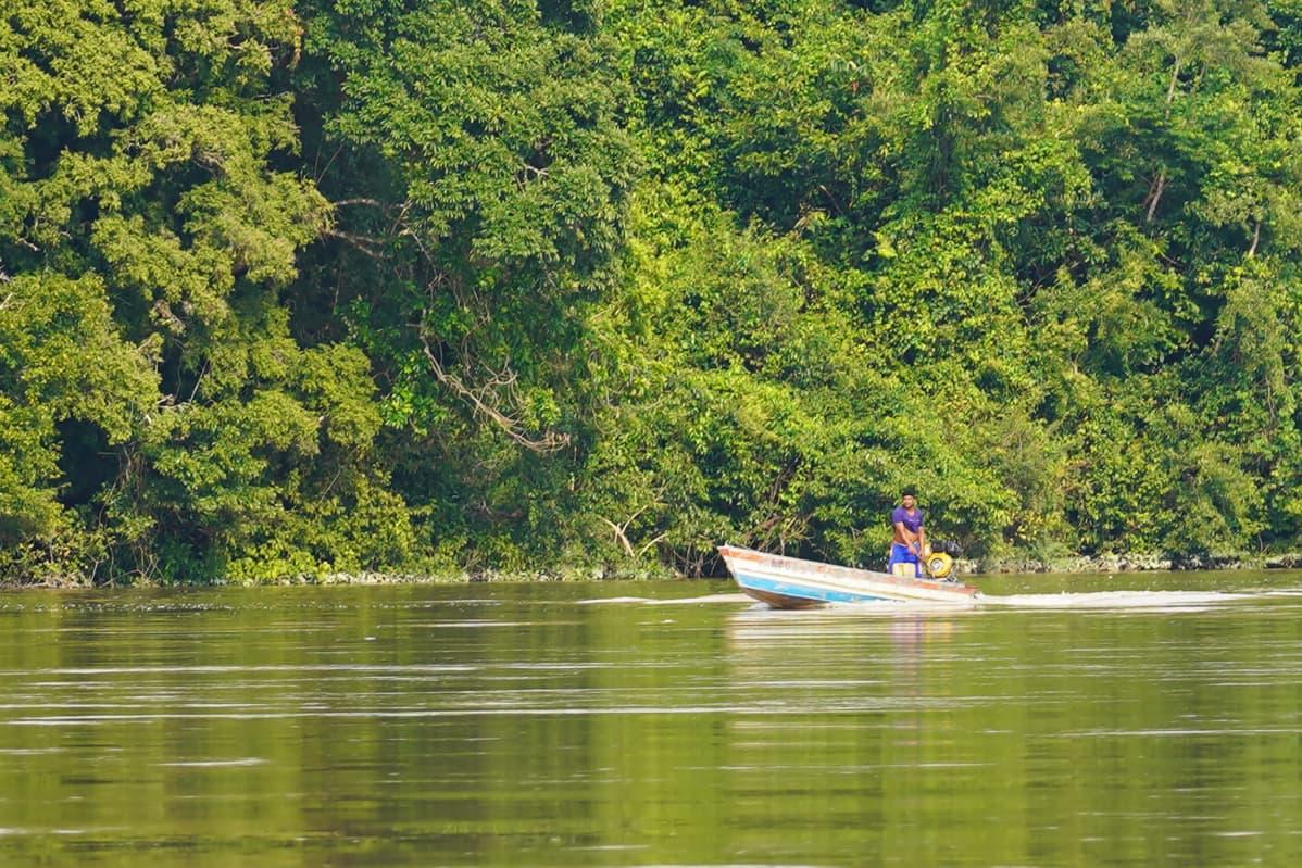 Vene Jamanxim-joella Brasiliassa