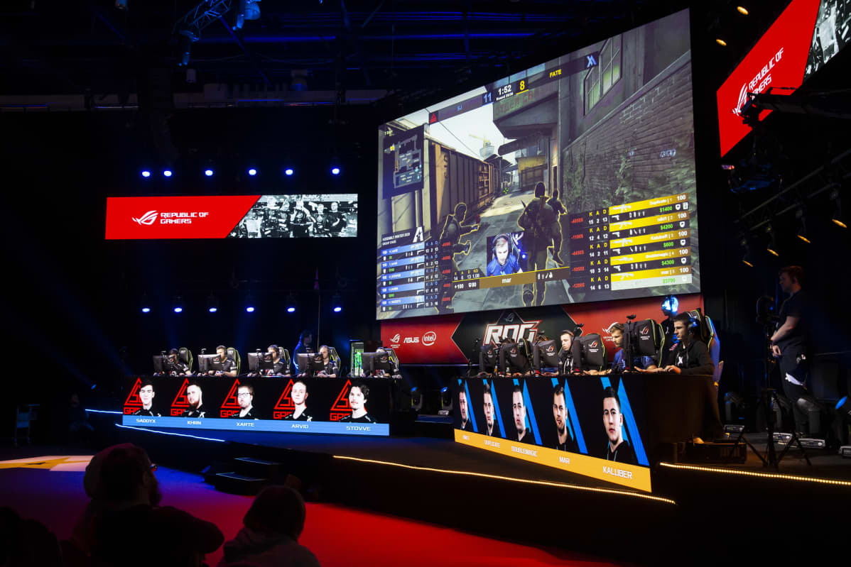 SJ Gaming ja FATE Assembly Winter 2020 -tapahtumassa.