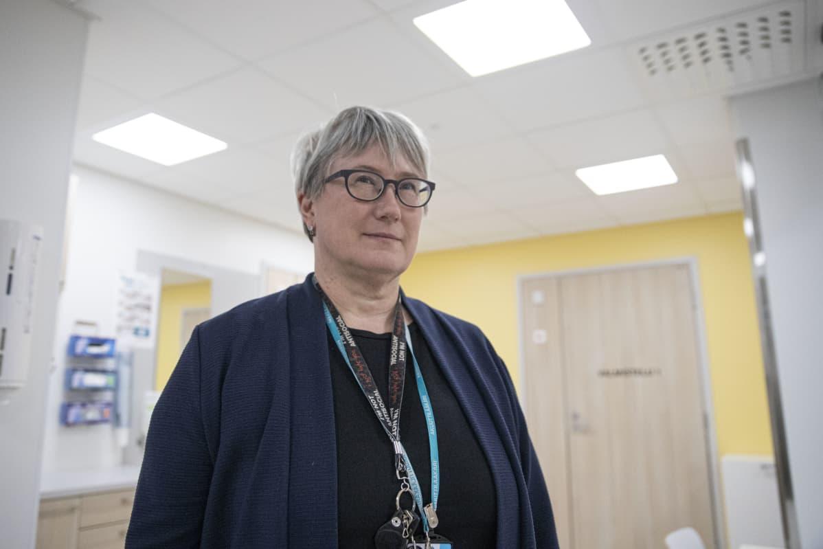 Pohjois-Karjalan keskussairaalan ylilääkäri Susanna Wilén.