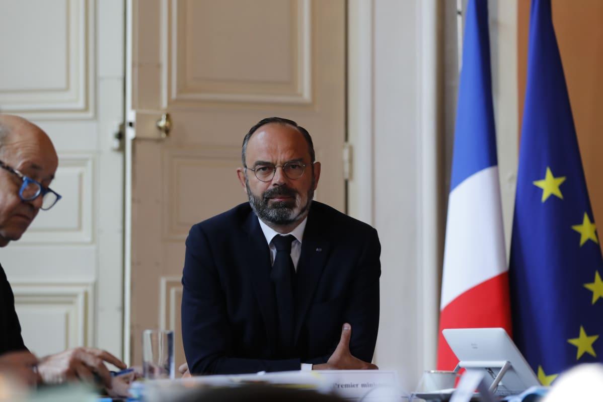 Ranskan pääministeri Édouard Philippe