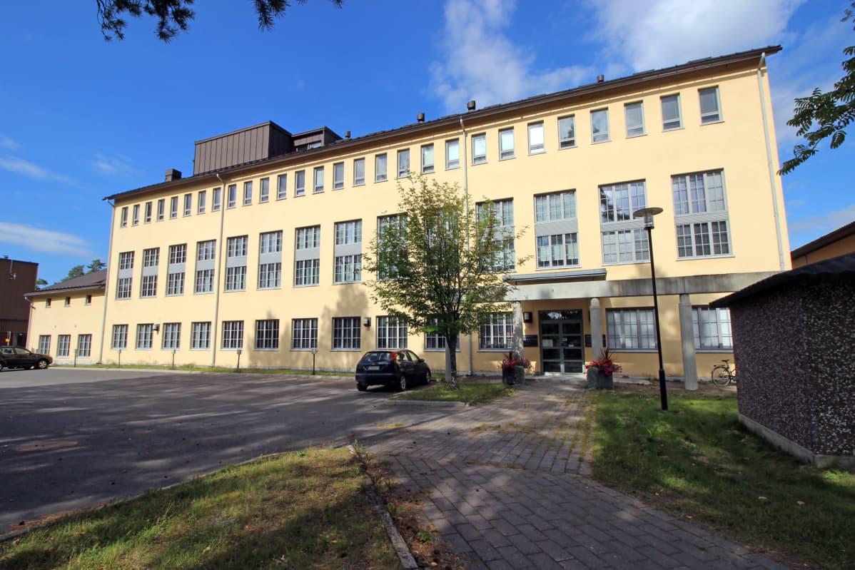Kansallisarkiston digitointi- ja konservointikeskus Mikkelin Pursialassa.