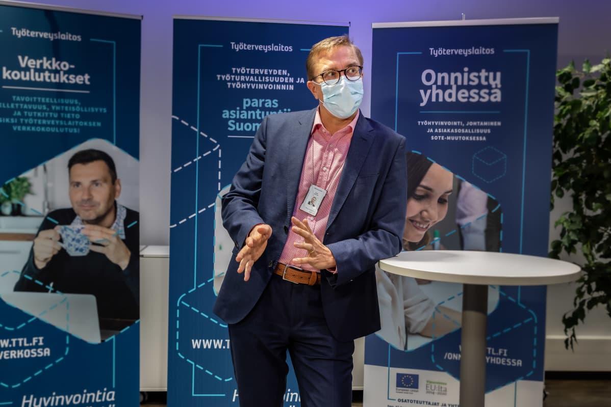 Antti Koivula, pääjohtaja, TTL