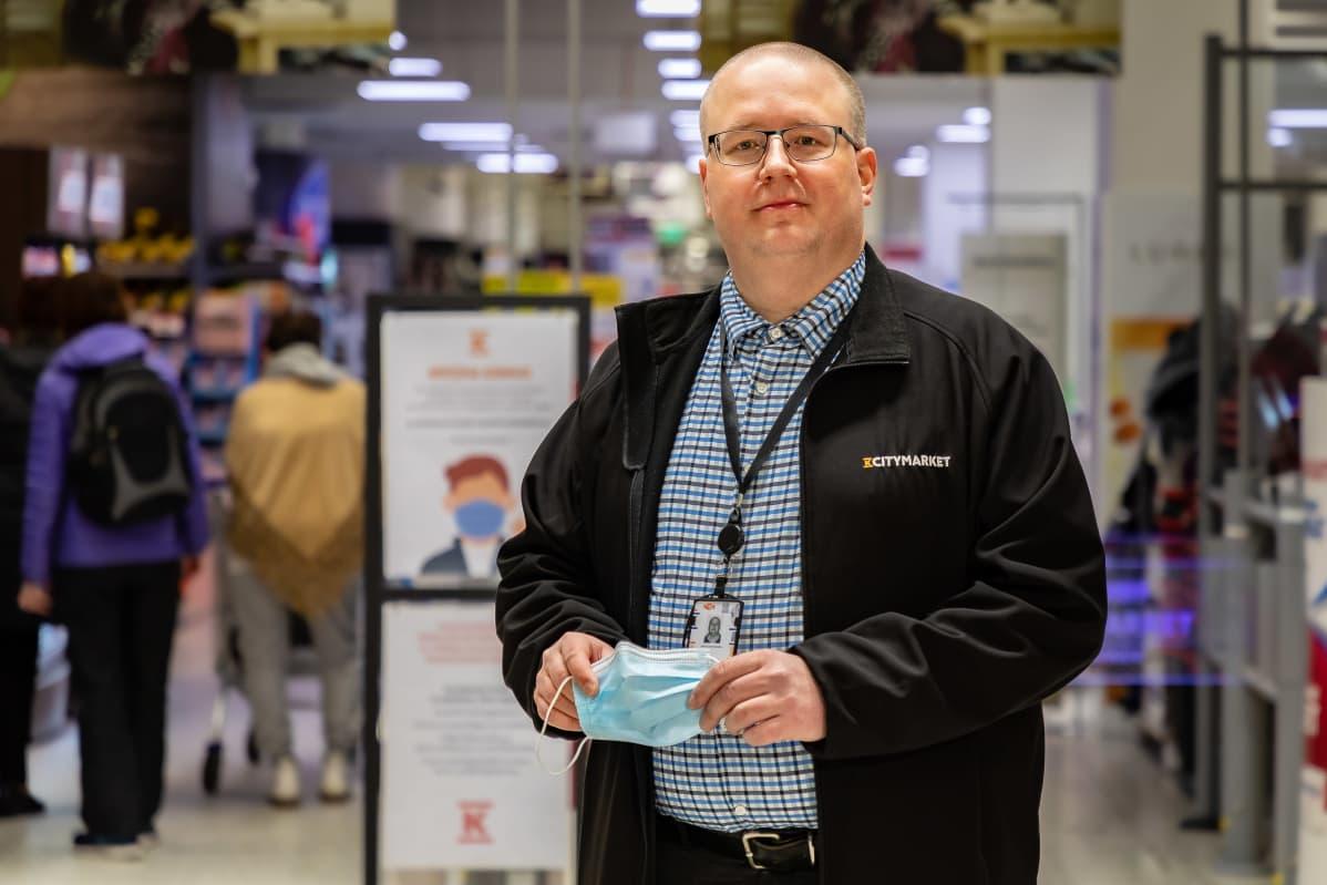 Antti Lempiäinen, ketjupäällikkö Kesko