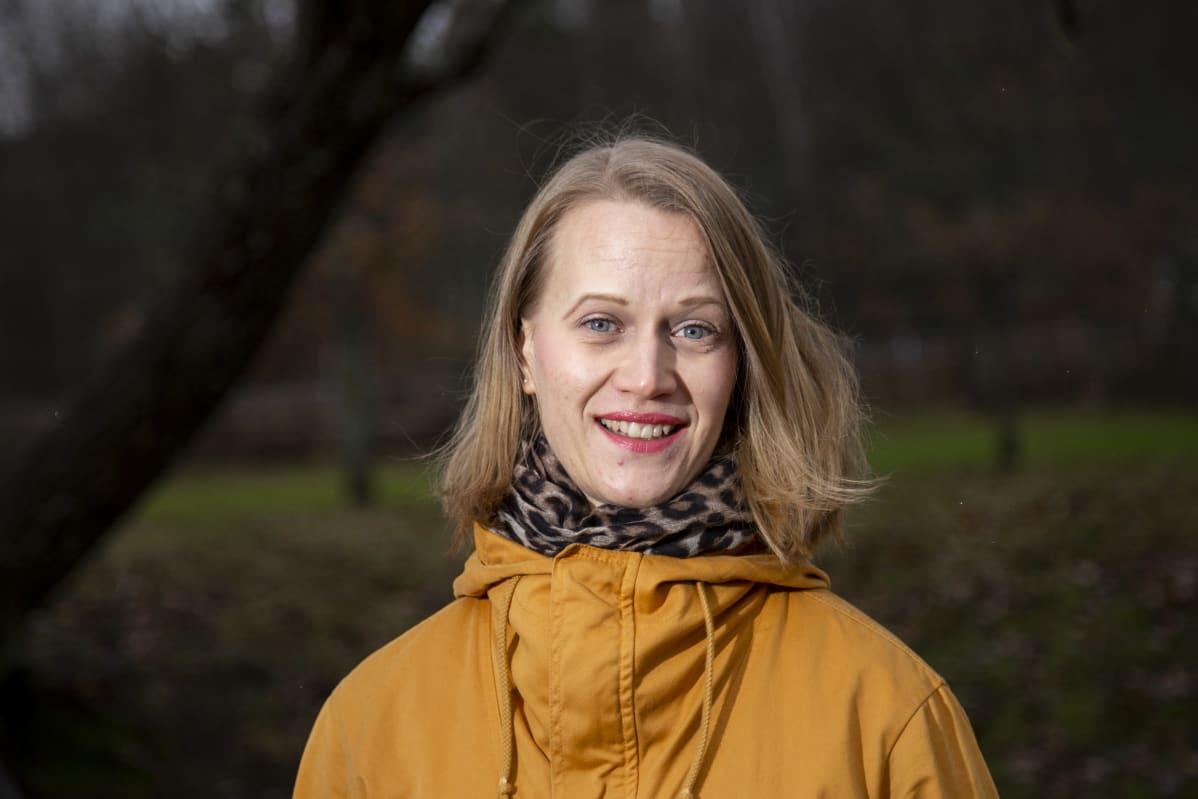 Psykologian tohtori Elina Marttinen.