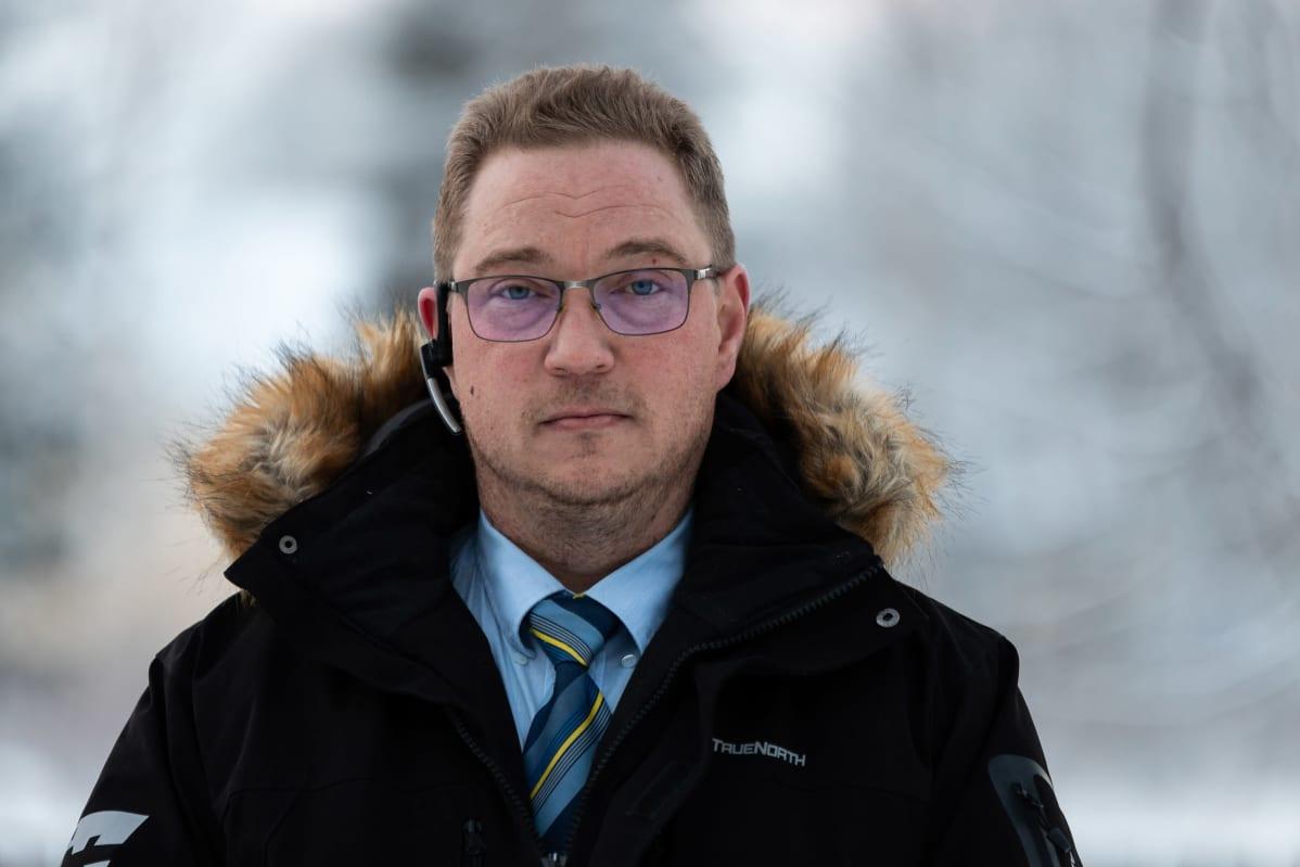 Taksinkuljettaja Jaakko Kallioinen.