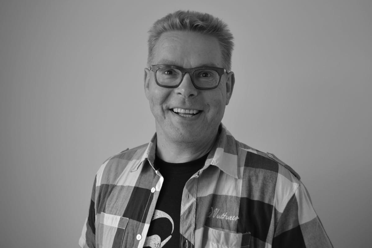 Yle Lapin radiotuottaja Jari Vesa