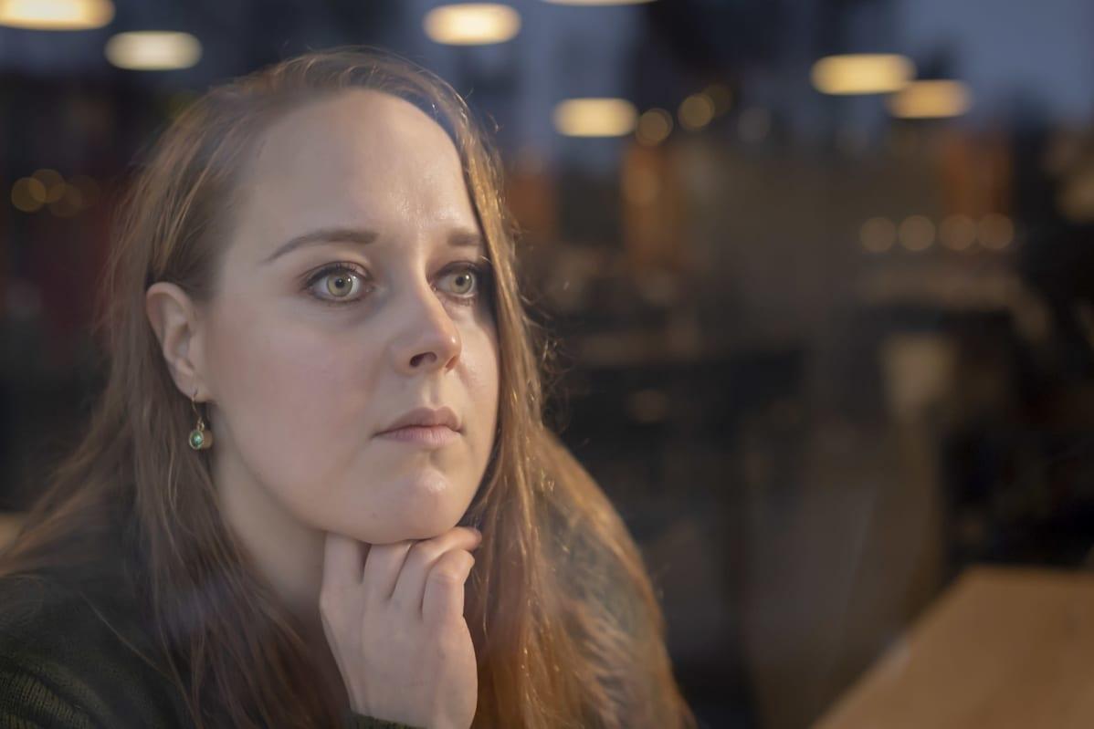 Petra Rautiainen Ravintola Koskenrannassa.