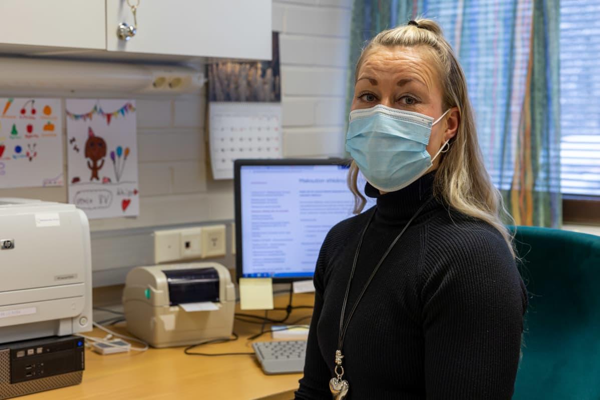 Mäntänvuoren Terveys Oy terveydenhoitaja Saija Keskinen