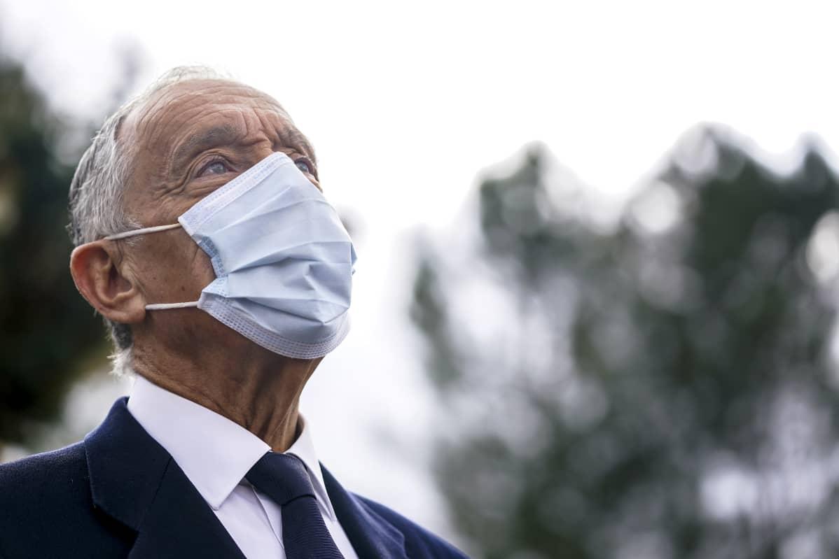Portugalin presidentti Marcelo Rebelo De Sousa on valittu jatkamaan toiselle kaudelle.