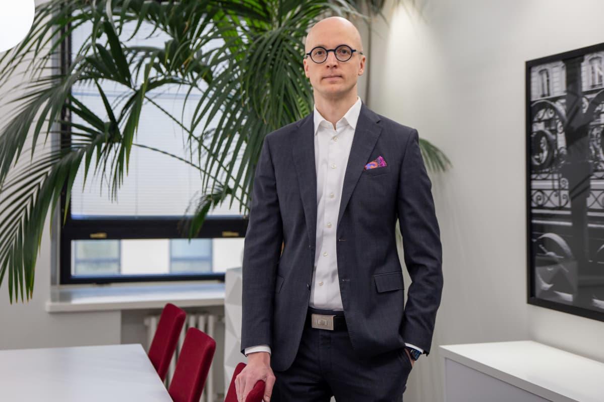 Tero Lehtonen, toimitusjohtaja, JJL Finland LPK