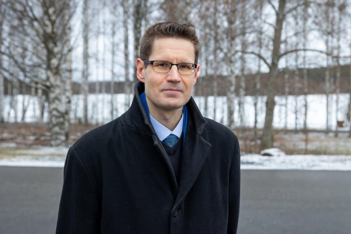 Perussuomalaisten kansanedustaja Sami Savio